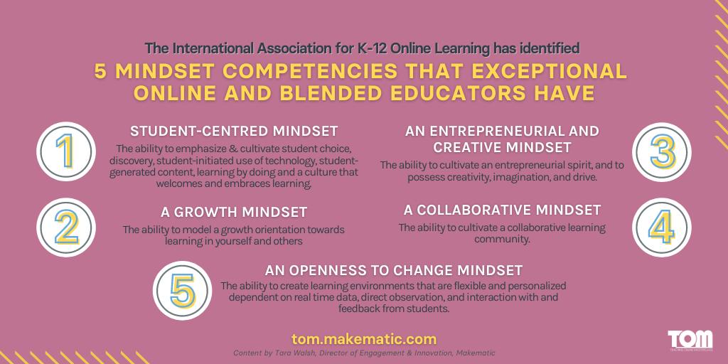 Mindset Competencies Infographic
